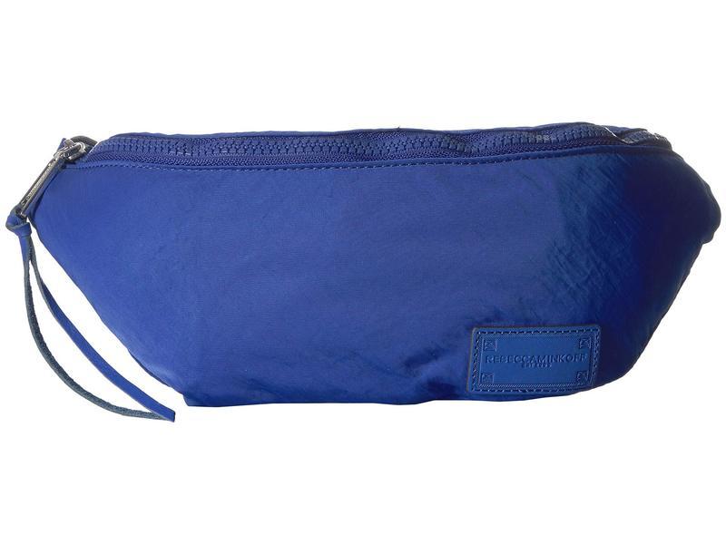 レベッカミンコフ レディース ボディバッグ・ウエストポーチ バッグ Nylon Belt Bag Bright Blue