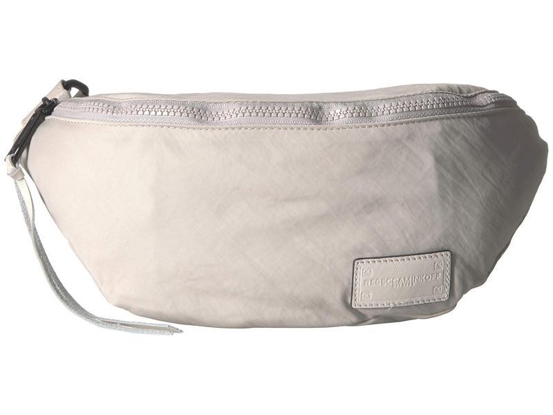 レベッカミンコフ レディース ボディバッグ・ウエストポーチ バッグ Nylon Belt Bag Bone