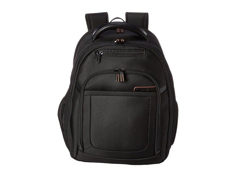 サムソナイト メンズ バックパック・リュックサック バッグ PRO 4 DLX Backpack PFT/TSA Black