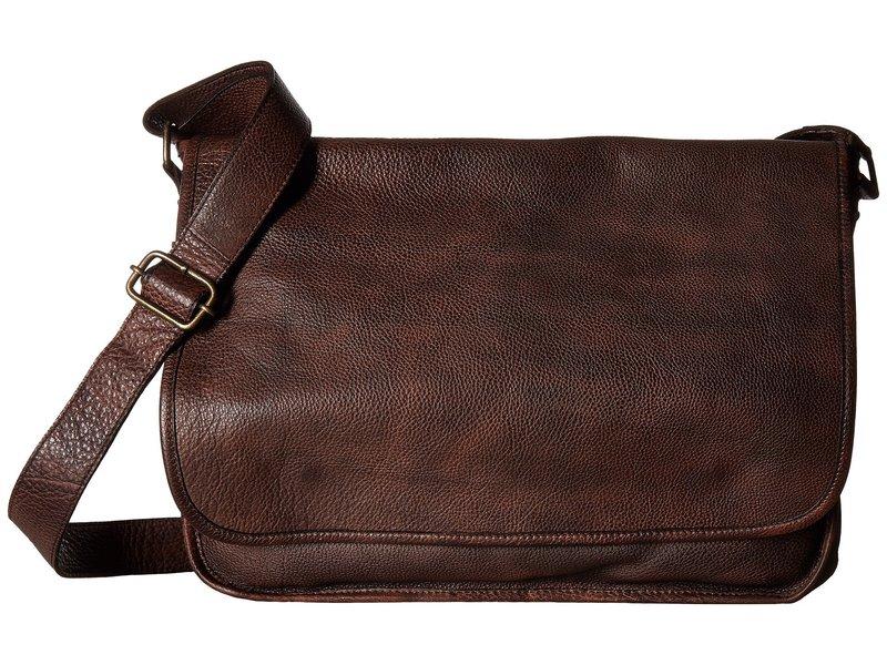スカーリー メンズ ショルダーバッグ バッグ Solvang Workbag Brown