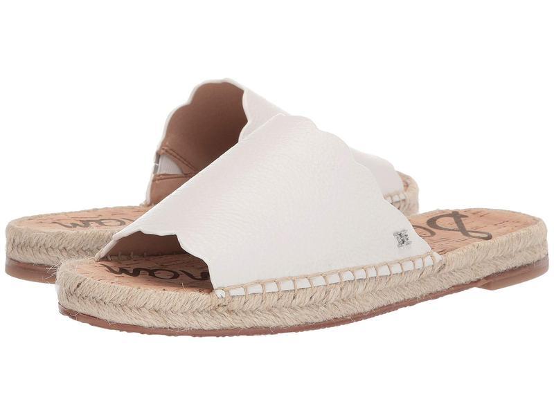 サムエデルマン レディース サンダル シューズ Andy Bright White Botalatto Tumbled Leather