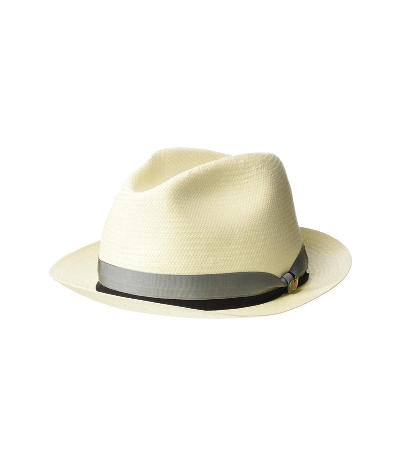 スカラ メンズ 帽子 アクセサリー Shantung Fedora Bleach