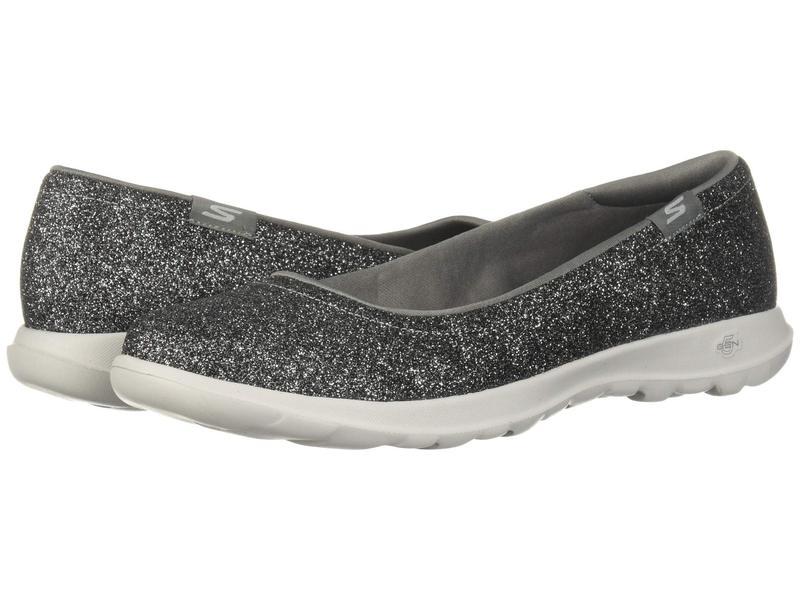 スケッチャーズ レディース スニーカー シューズ Go Walk Lite - 16359 Silver