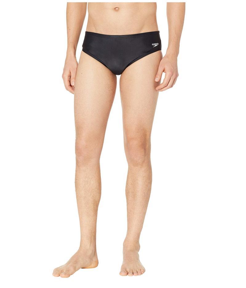 スピード メンズ ハーフパンツ・ショーツ 水着 Core Solid Swim Briefs New Black