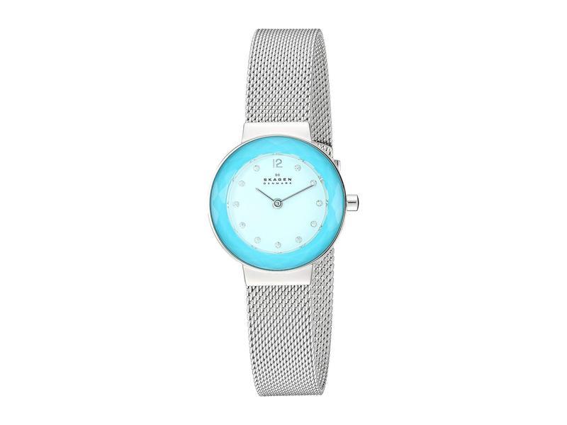 スカーゲン レディース 腕時計 アクセサリー Leonora Faceted Crystal - SKW2767 Silver