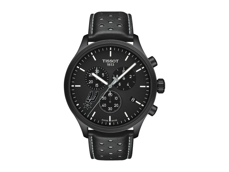 ティソット メンズ 腕時計 アクセサリー Chrono XL NBA Chronograph San Antonio Spurs - T1166173605104 Black/Black/Silvered