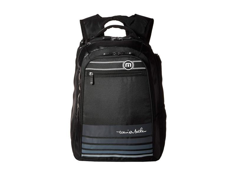 トラビスマヒュー メンズ バックパック・リュックサック バッグ Backpack Black