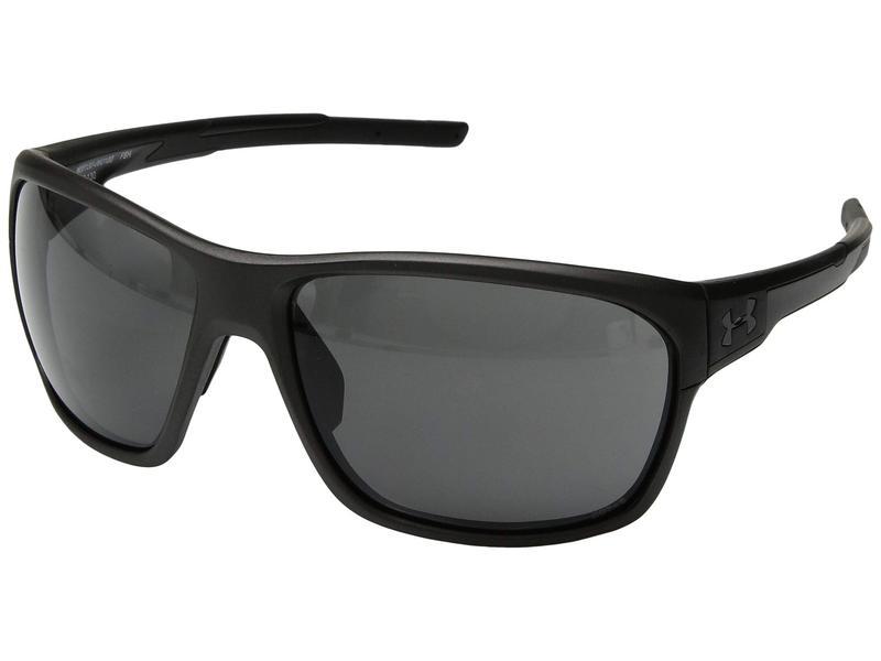 アンダーアーマー メンズ サングラス・アイウェア アクセサリー No Limits Satin Carbon/Black Frame/Gray Lens