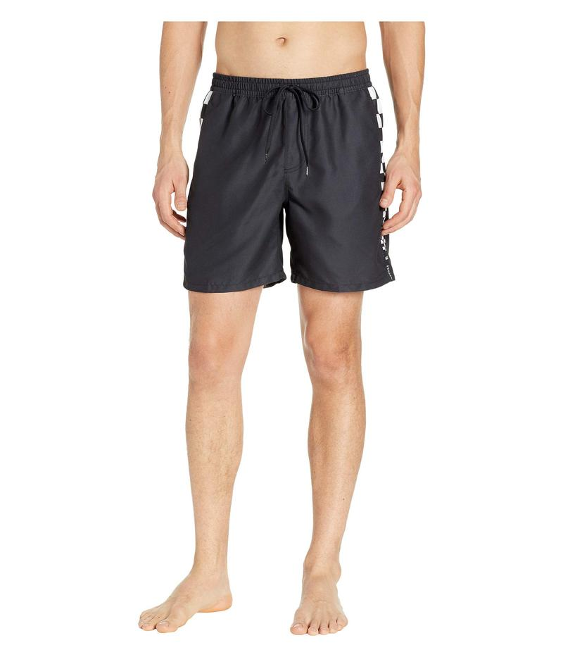バンズ メンズ ハーフパンツ・ショーツ 水着 V Panel Volley Boardshorts Black