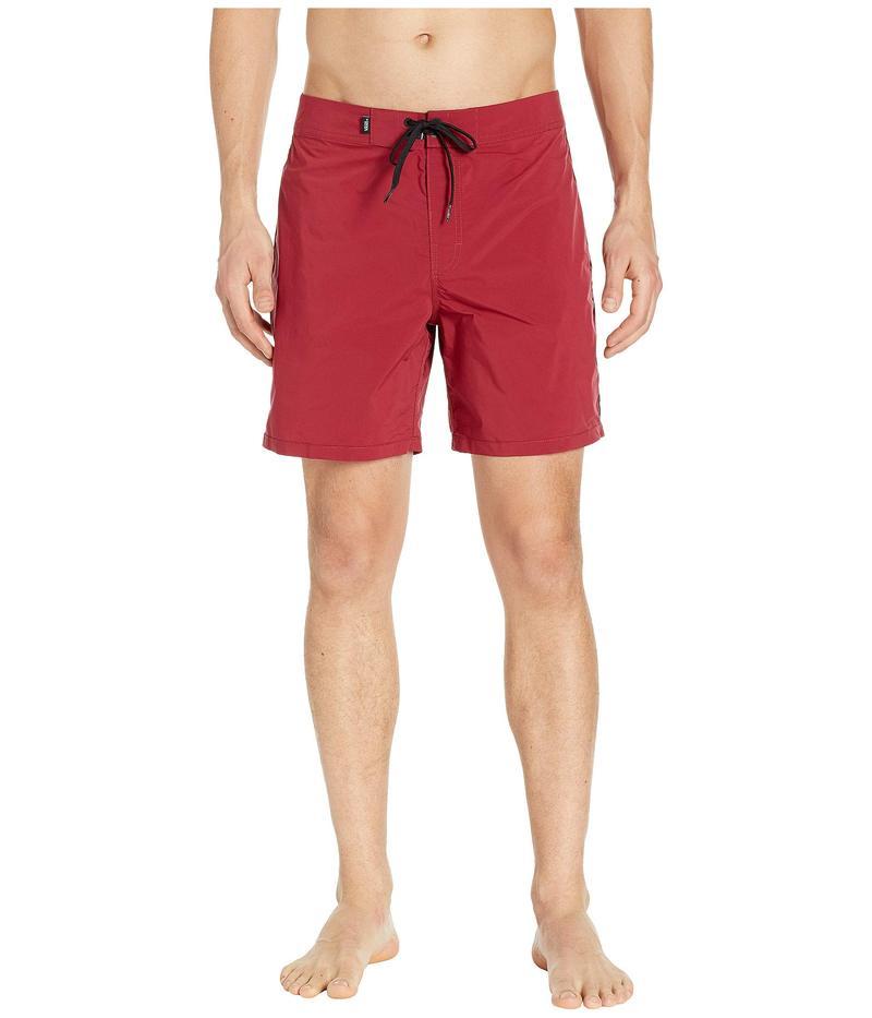 バンズ メンズ ハーフパンツ・ショーツ 水着 Ever-Ride Boardshorts Rhumba Red