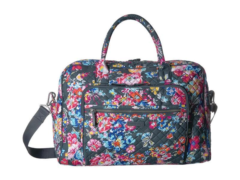 ベラブラッドリー レディース ボストンバッグ バッグ Iconic Weekender Travel Bag Pretty Posies