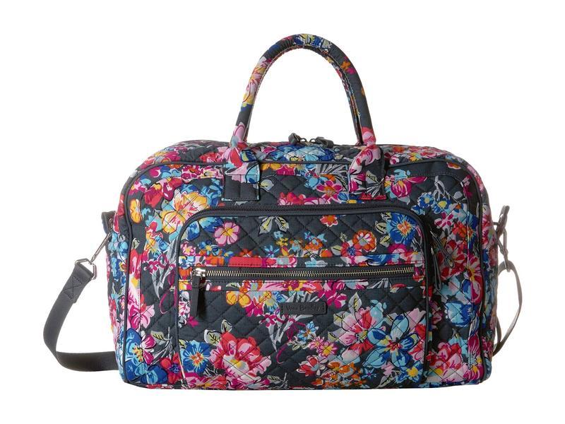 ベラブラッドリー レディース ボストンバッグ バッグ Iconic Compact Weekender Travel Bag Pretty Posies