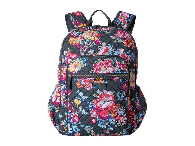 ベラブラッドリー レディース バックパック・リュックサック Posies バッグ Iconic Campus Backpack レディース Pretty Pretty Posies, クロバネマチ:161c5d93 --- kutter.pl