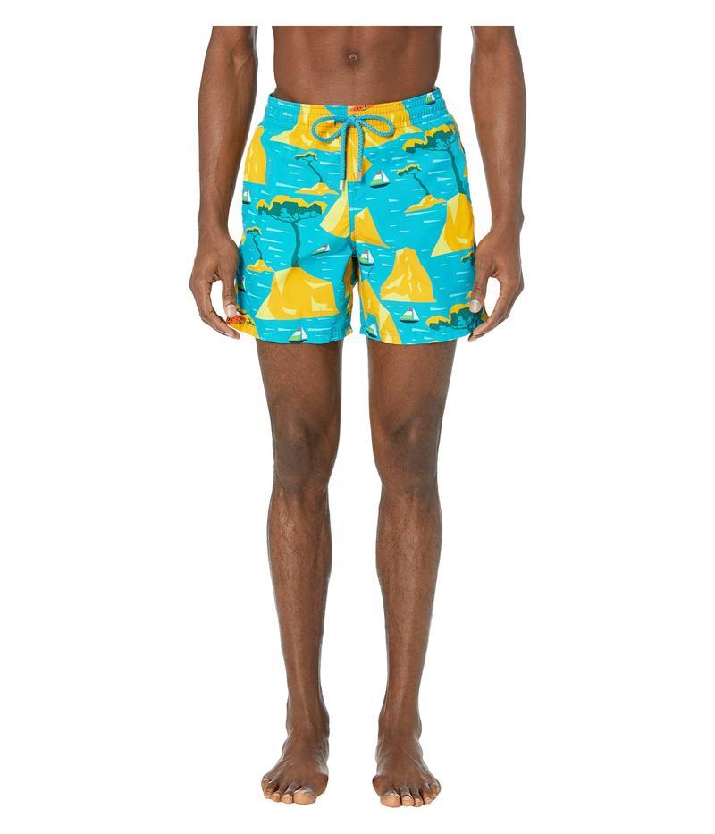 ヴィルブレクイン メンズ ハーフパンツ・ショーツ 水着 Capri Moorea Swim Trunks Bahama Blue