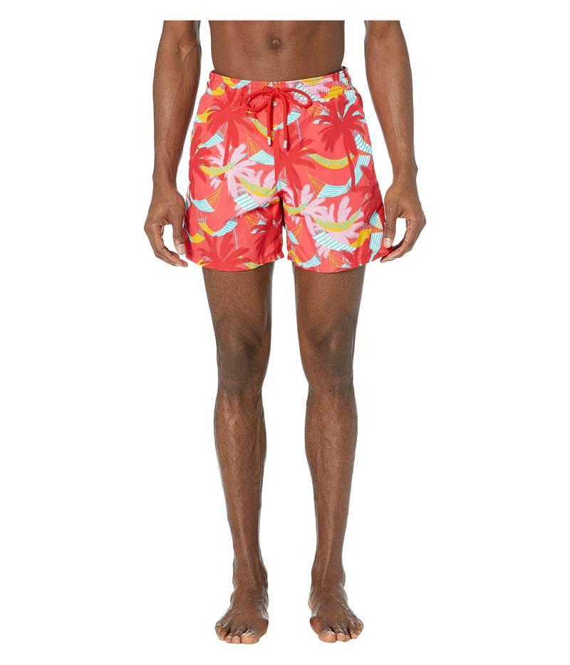 ヴィルブレクイン メンズ ハーフパンツ・ショーツ 水着 Ibiza Moorea Swim Trunks Hibiscus