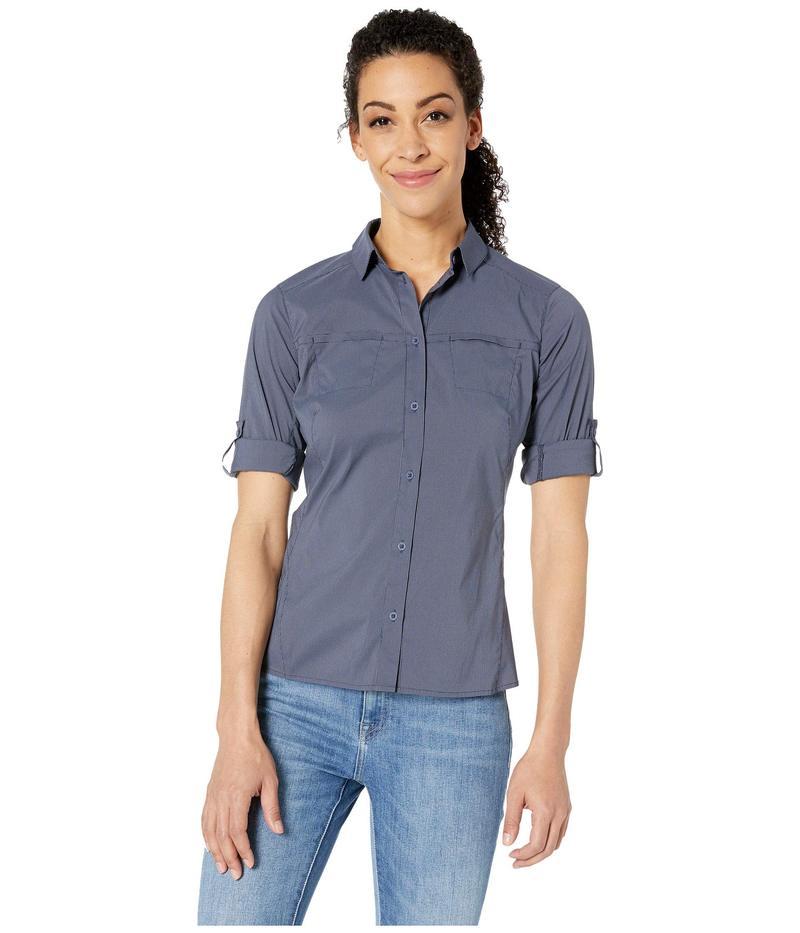 アークテリクス レディース シャツ トップス Fernie Long Sleeve Shirt Black Sapphire 2