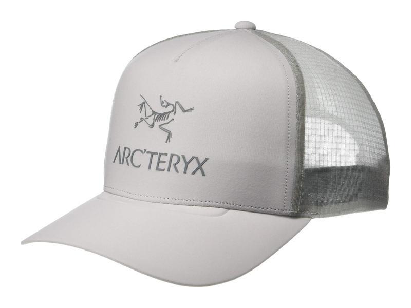 アークテリクス メンズ 帽子 アクセサリー Logo Trucker Hat Delos Grey