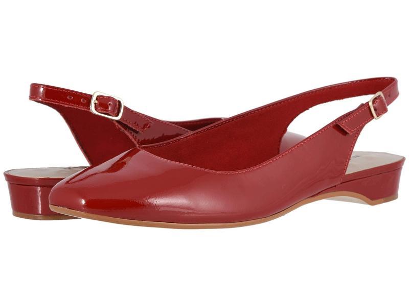 ウォーキング クレイドル レディース サンダル シューズ Parasol Red Patent