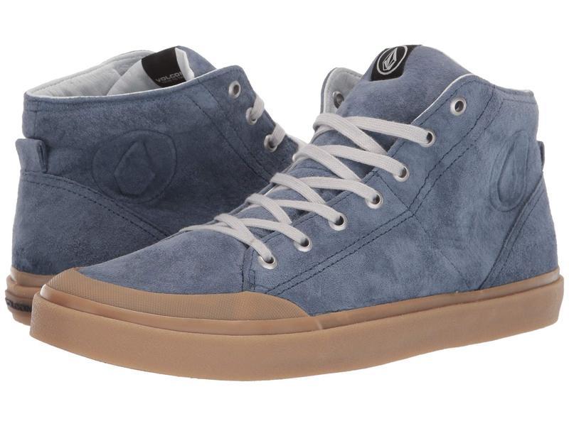 ボルコム メンズ スニーカー シューズ Hi Fi Lx Shoes Stormy Blue
