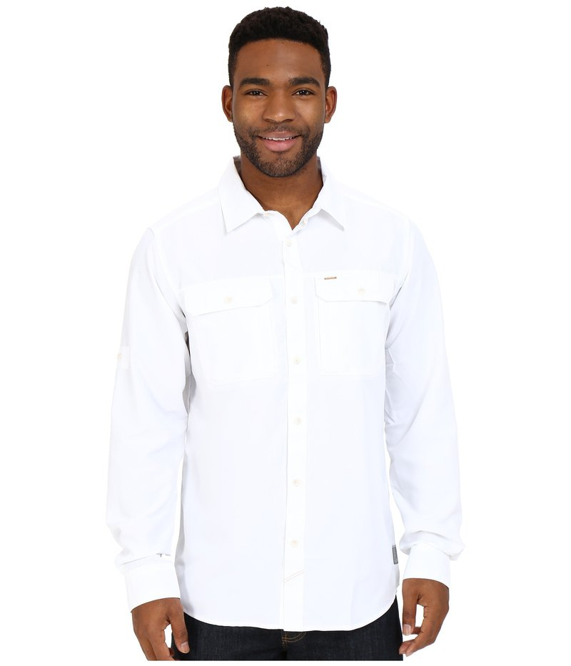 マウンテンハードウェア メンズ シャツ トップス Canyon L/S Shirt White