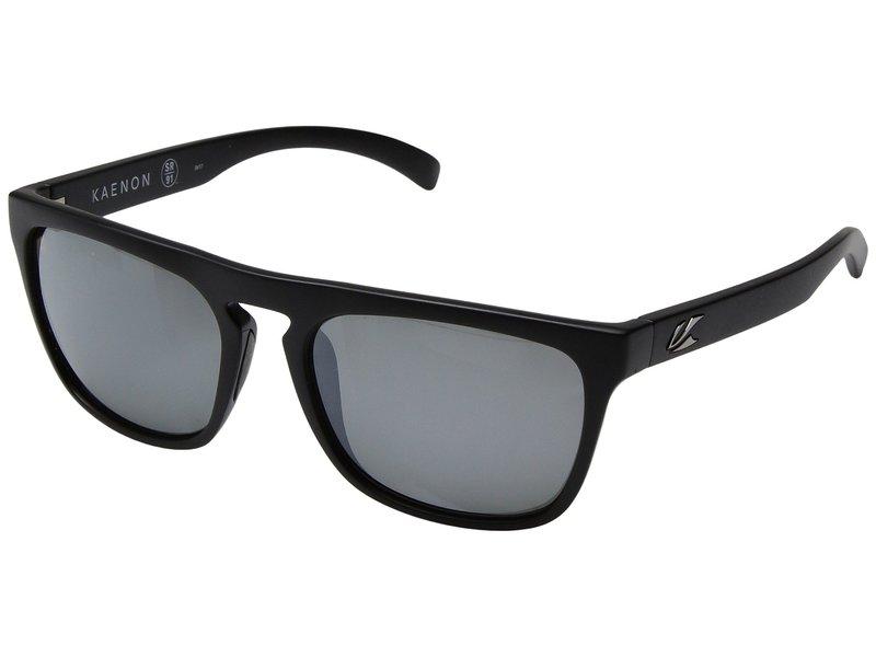 カエノン メンズ サングラス・アイウェア アクセサリー Leadbetter Black Label/Grey 12 Polarized Black Mirror