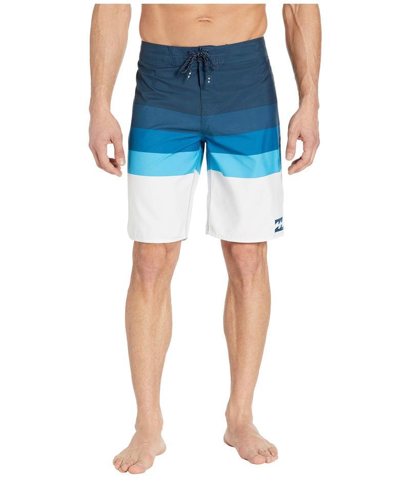 ビラボン メンズ ハーフパンツ・ショーツ 水着 Midway Stripe Blue