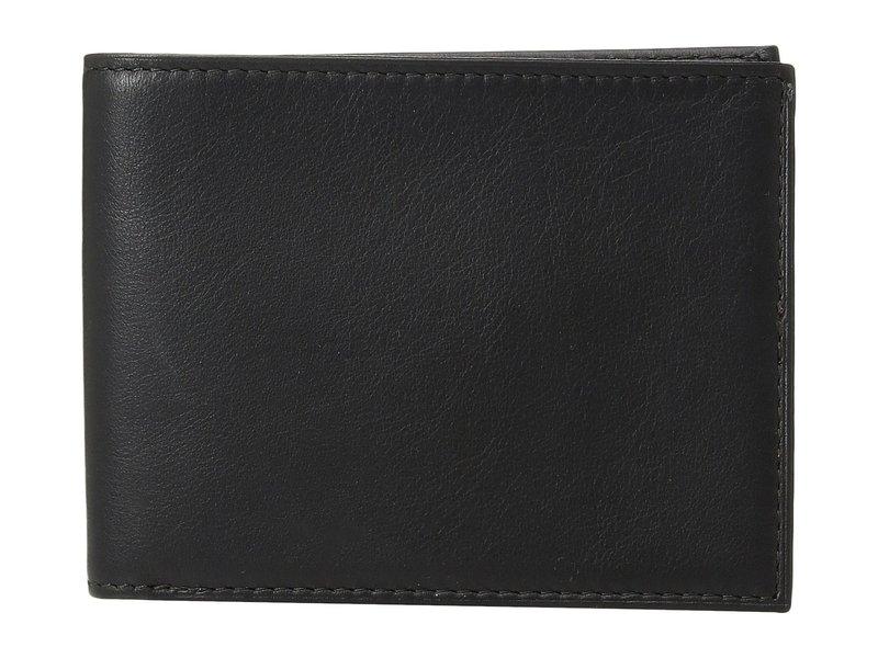 ボスカ メンズ 財布 アクセサリー Nappa Vitello Collection - Executive ID Wallet Black Leather