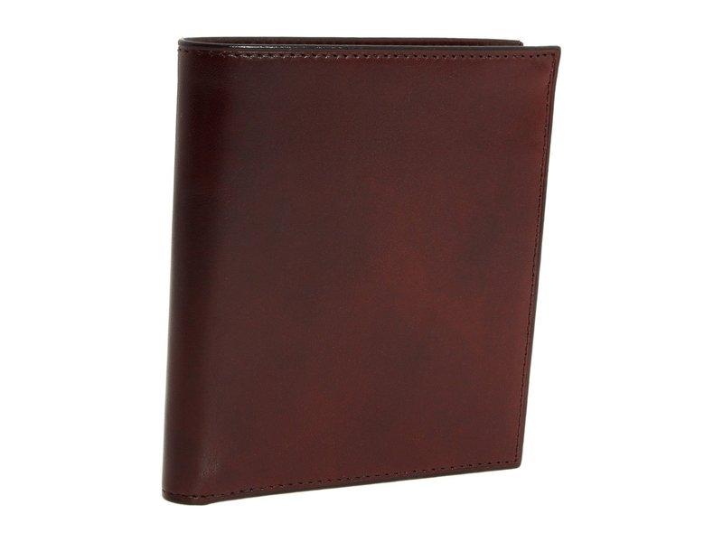 ボスカ メンズ 財布 アクセサリー Old Leather Collection - 12-Pocket Credit Wallet Dark Brown Leather