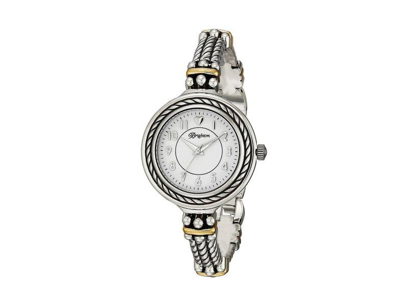 ブライトン レディース 腕時計 アクセサリー W41081 Mendocino Timepiece Silver/Gold