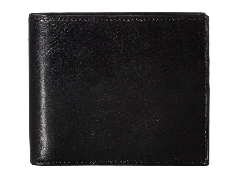 ボスカ メンズ 財布 アクセサリー Old Leather Collection - Credit Wallet w/ I.D. Passcase Black