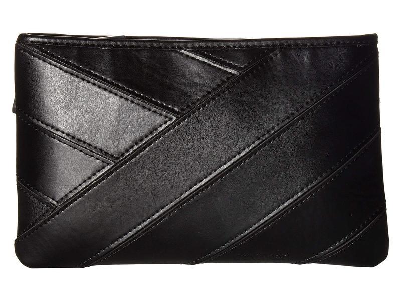 カルバンクライン レディース ボディバッグ・ウエストポーチ バッグ Pieced Belt Bag Black/Polished Nickel