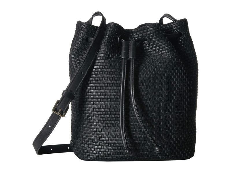 コールハーン レディース ハンドバッグ バッグ Bethany Weave Bucket Bag Black