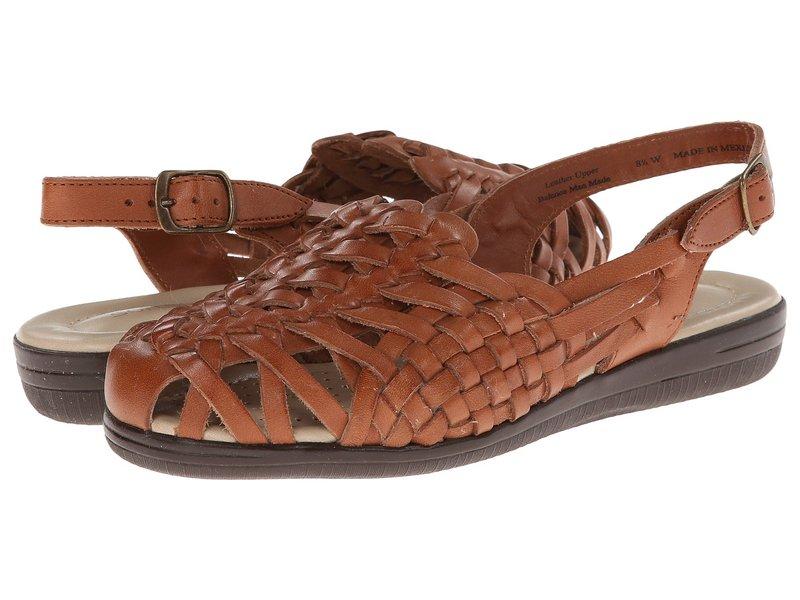 コンフォーティバ レディース サンダル シューズ Tobago - Soft Spots Rust Tan