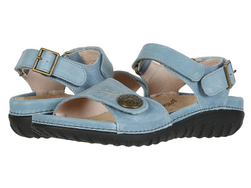 ドリュー レディース サンダル シューズ Walkabout Blue Leather