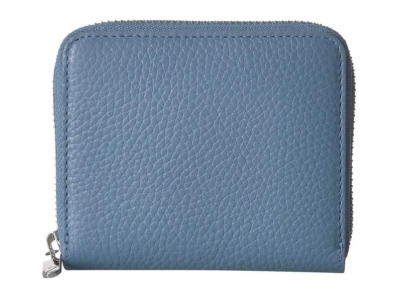 エコー レディース 財布 アクセサリー SP 3 Small Zip Around Wallet Retro Blue