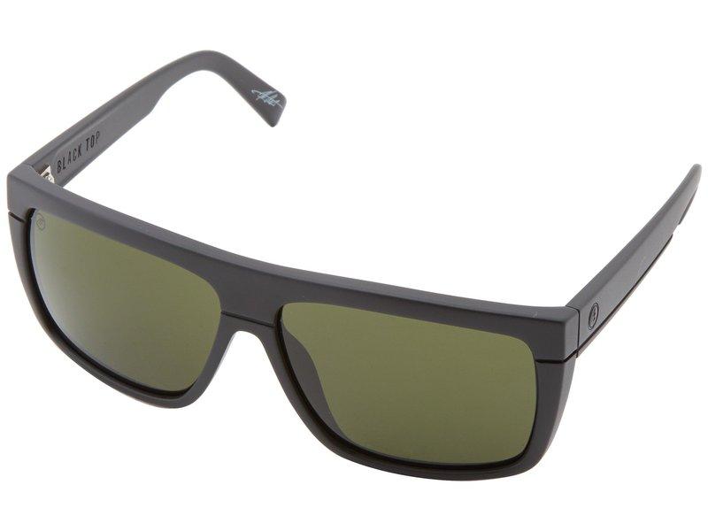 エレクトリックアイウェア メンズ サングラス・アイウェア アクセサリー Black Top Matte Black/M Grey