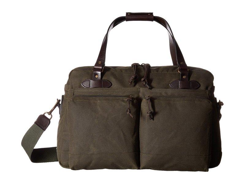 送料無料 驚きの値段で サイズ交換無料 フィルソン メンズ バッグ ボストンバッグ Green 48-Hour まとめ買い特価 1 Duffel Otter