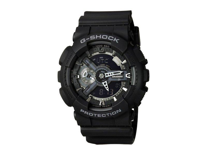 ジーショック メンズ 腕時計 アクセサリー GA-110 Black