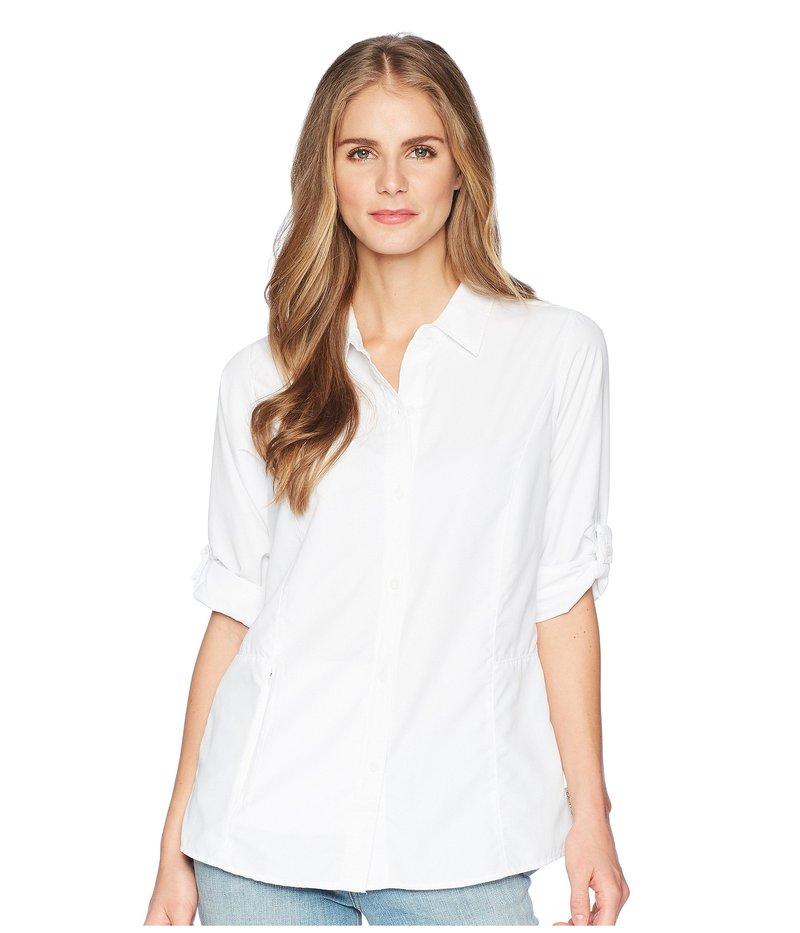 エクスオフィシオ レディース シャツ トップス BugsAway Brisa Long Sleeve Top White