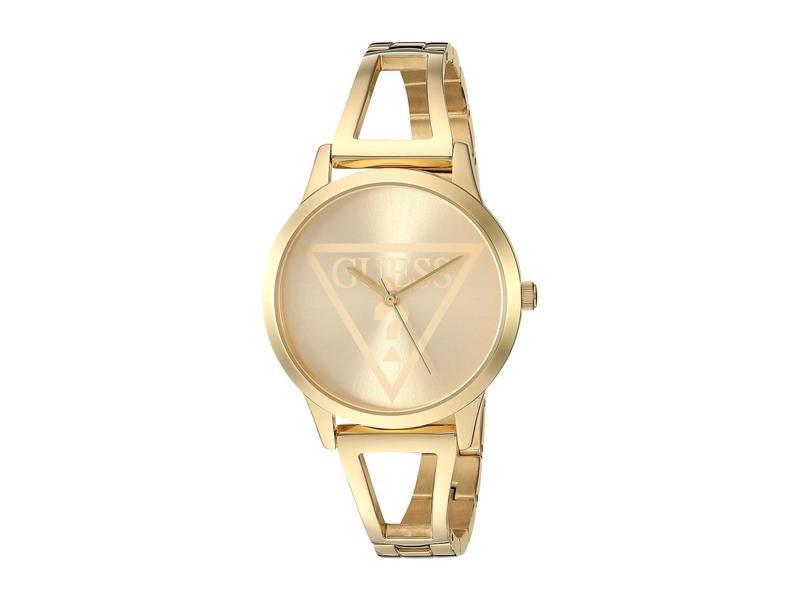 ゲス レディース 腕時計 アクセサリー U1145L3 Gold Tone