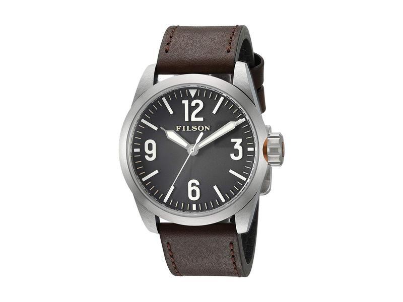 フィルソン メンズ 腕時計 アクセサリー Filson Field Watch 41mm Black
