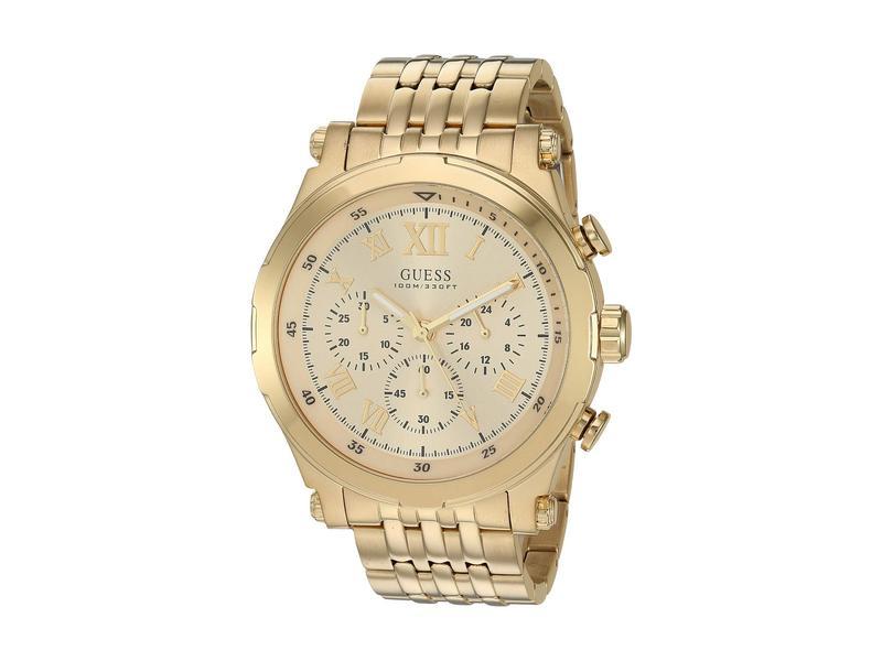 ゲス メンズ 腕時計 アクセサリー U1104G5 Gold-Tone