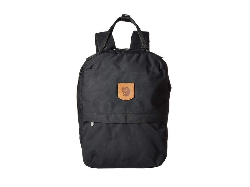 フェールラーベン メンズ バックパック・リュックサック バッグ Greenland Zip Black