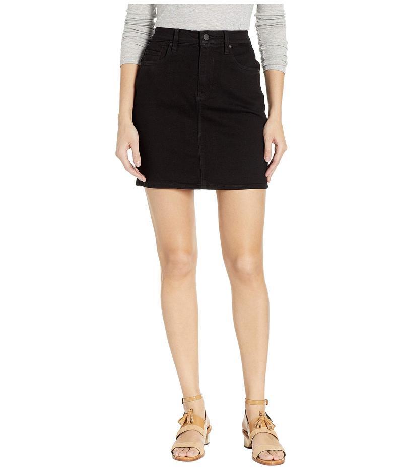 ハドソン レディース スカート ボトムス Lulu Denim Skirt in Black Black
