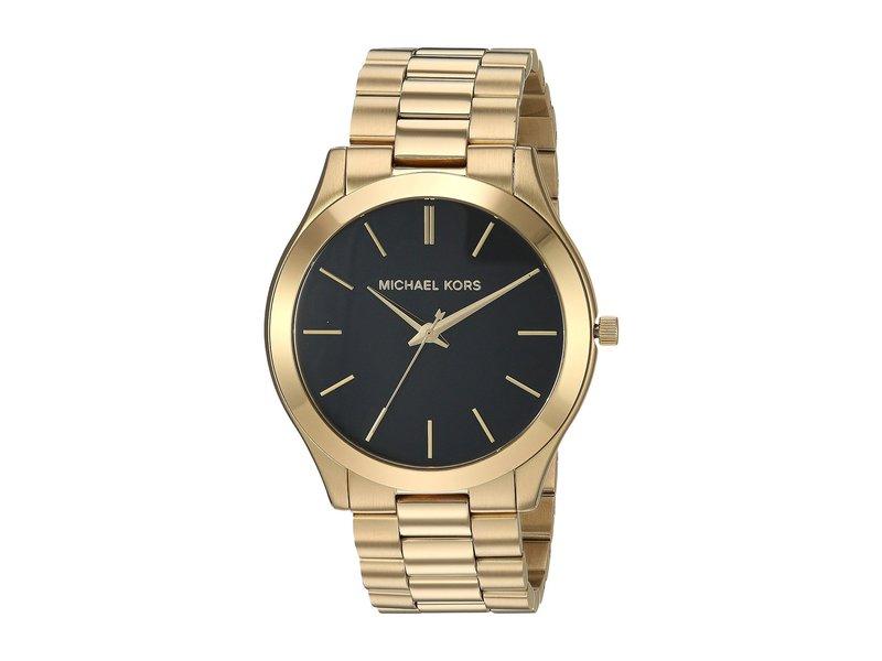 マイケルコース メンズ 腕時計 アクセサリー MK8621 - Slim Runway Gold