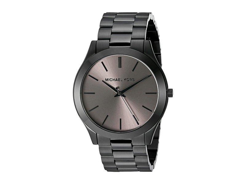 マイケルコース メンズ 腕時計 アクセサリー MK8507 - Slim Runway Black