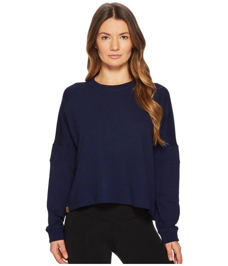 モンレアルロンドン レディース パーカー・スウェット アウター Flex Sweatshirt Indigo
