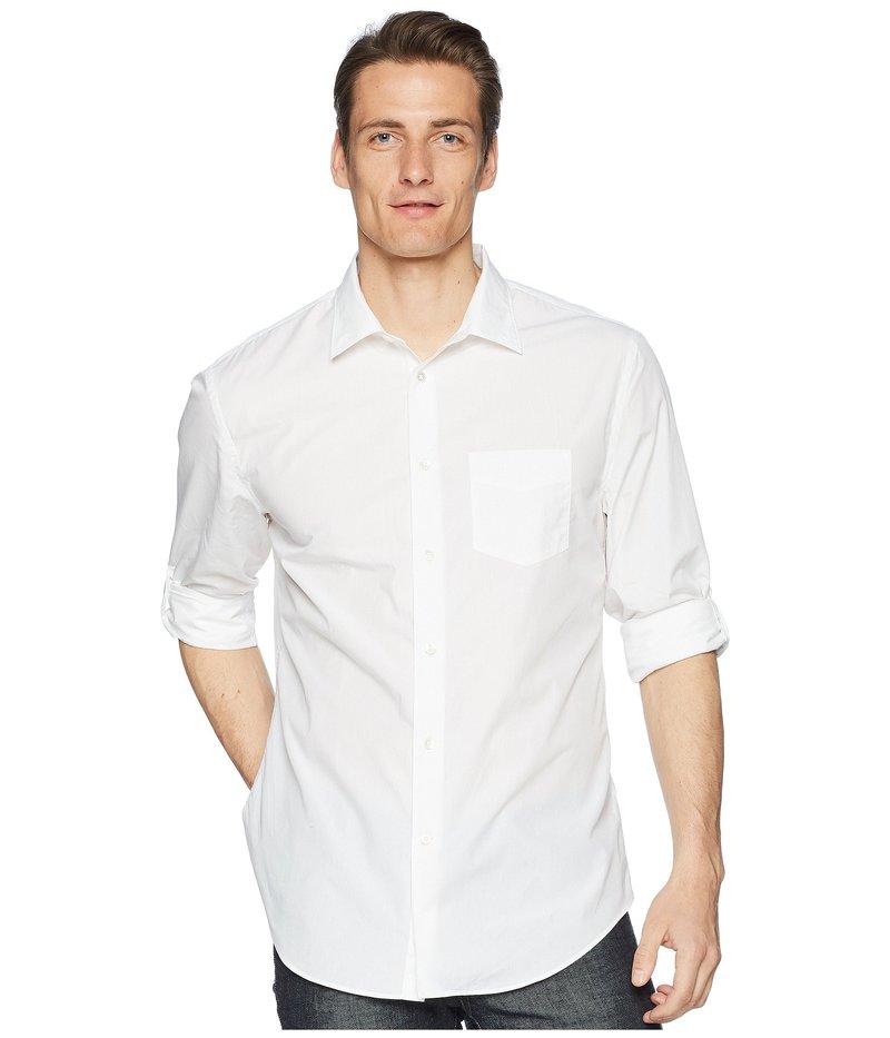 ジョンバルベイトス メンズ シャツ トップス Slim Fit Sport Shirt W433P3 White