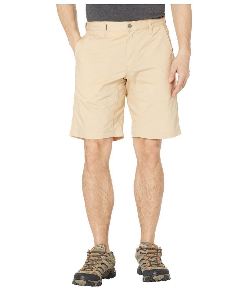 マウンテンカーキス メンズ ハーフパンツ・ショーツ ボトムス Stretch Poplin Shorts Slim Fit Khaki