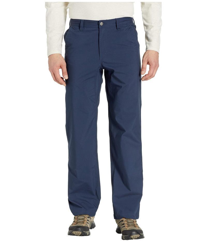 マウンテンカーキス メンズ カジュアルパンツ ボトムス Stretch Poplin Pants Relaxed Fit Navy